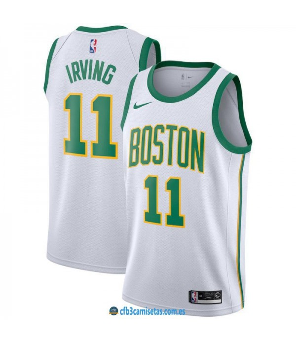 CFB3-Camisetas Kyrie Irving Boston Celtics 2018 2019 City Edition