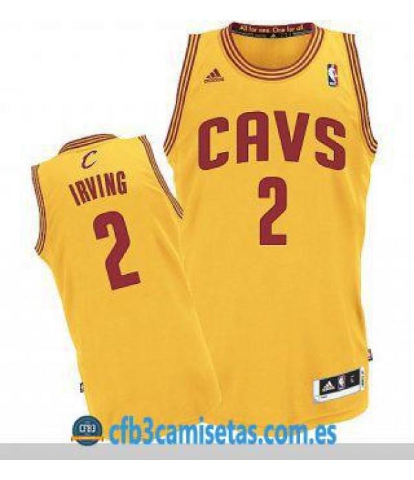 CFB3-Camisetas Kyrie Irving Cleveland Cavaliers Alternate