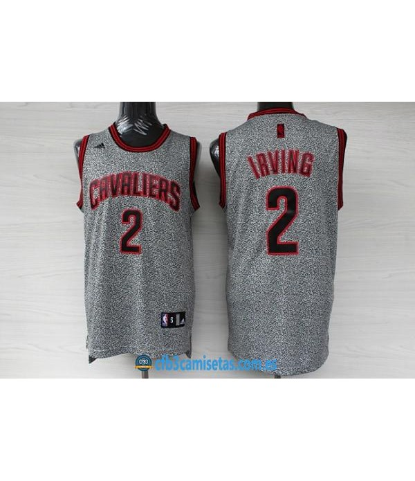 CFB3-Camisetas Kyrie Irving Cleveland Cavaliers Gr...