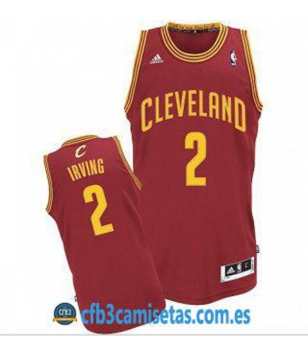 CFB3-Camisetas Kyrie Irving Cleveland Cavaliers Roja