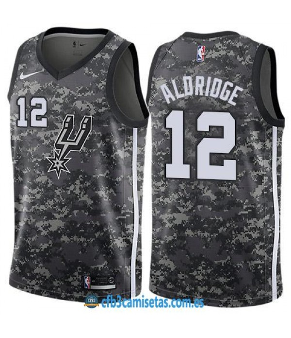 CFB3-Camisetas LaMarcus Aldridge San Antonio Spurs City Edition
