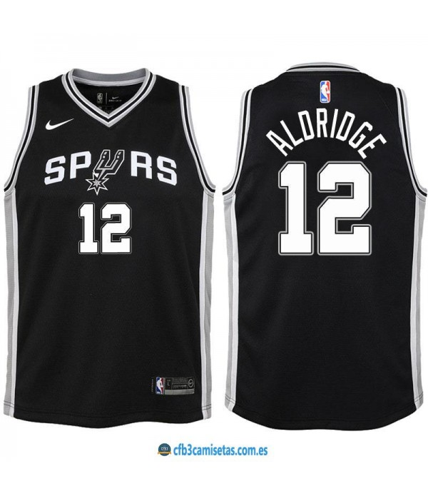CFB3-Camisetas LaMarcus Aldridge San Antonio Spurs Icon