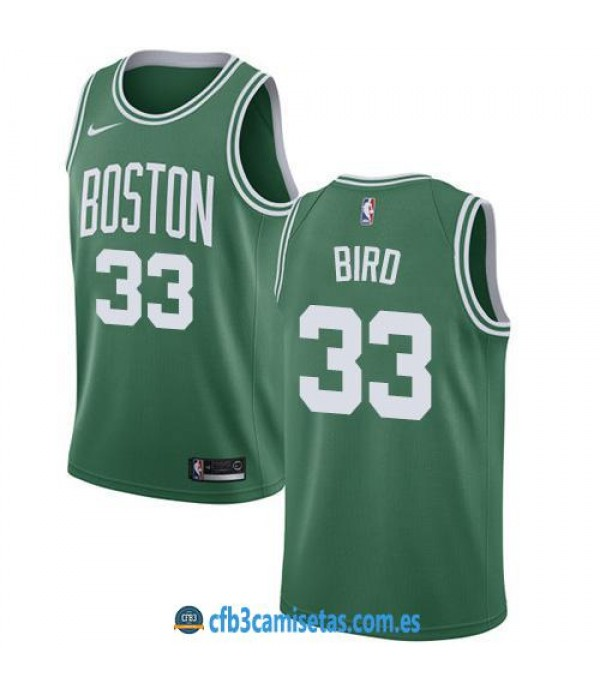 CFB3-Camisetas Larry Bird Boston Celtics Icon