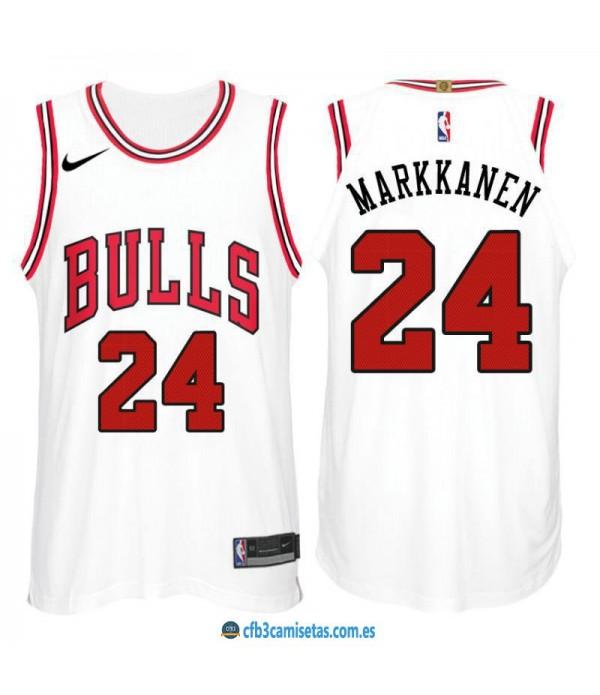 CFB3-Camisetas Lauri Markkanen Chicago Bulls Association