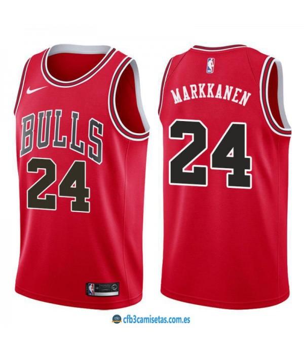 CFB3-Camisetas Lauri Markkanen Chicago Bulls Icon