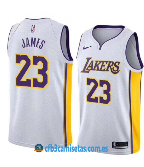 CFB3-Camisetas LeBron James Los Angeles Lakers Ass...