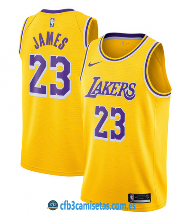 CFB3-Camisetas LeBron James Los Angeles Lakers Icon 2019