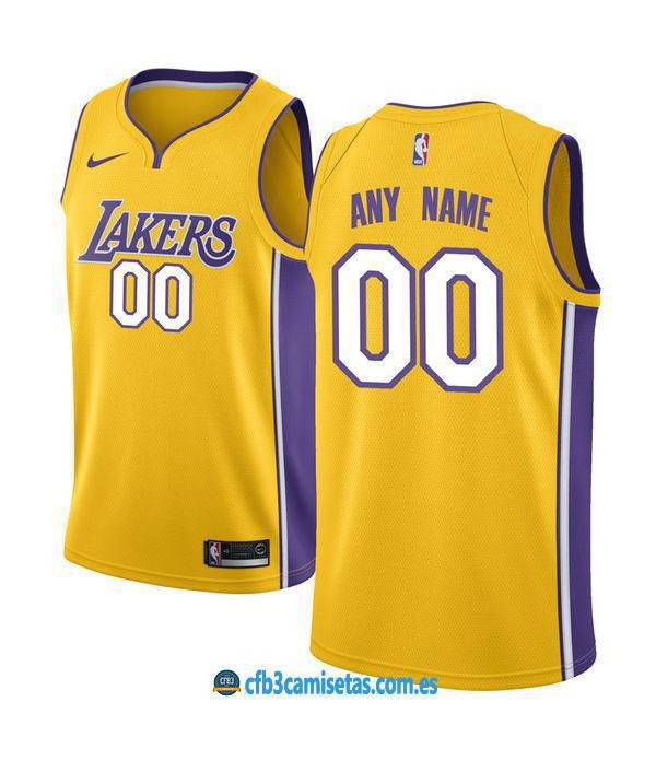CFB3-Camisetas Los Angeles Lakers Icon PERSONALIZA...