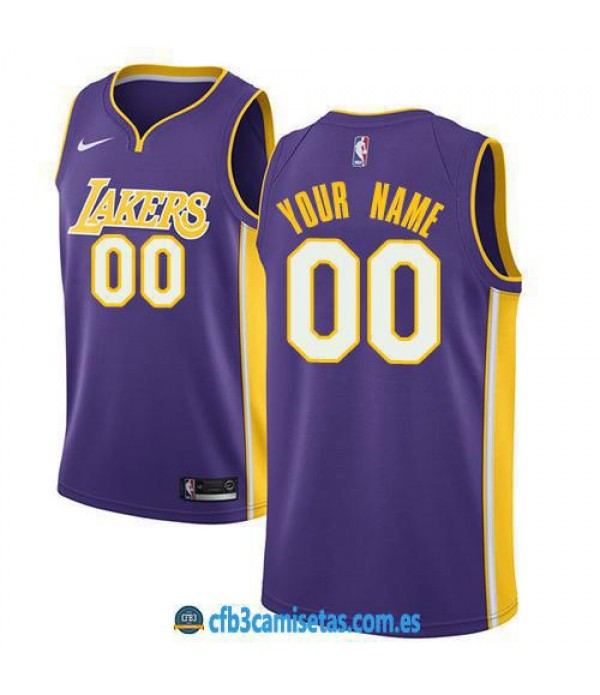 CFB3-Camisetas Los Angeles Lakers Statement PERSON...