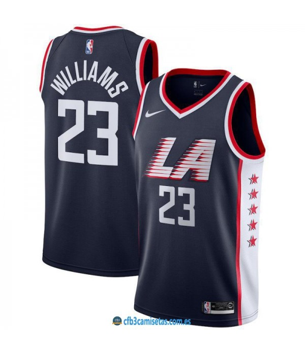 CFB3-Camisetas Lou Williams LA Clippers 2018 2019 ...