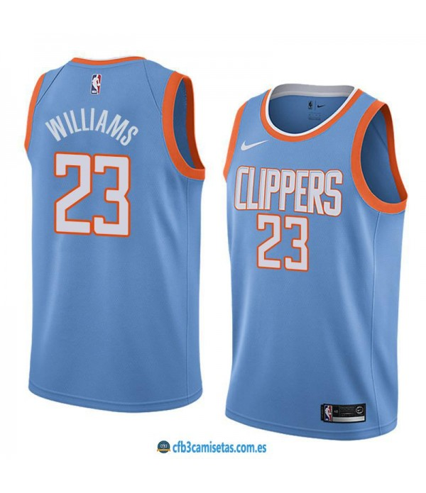 CFB3-Camisetas Lou Williams Los Angeles Clippers City Edition