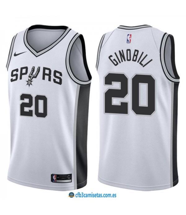 CFB3-Camisetas Manu Ginobili San Antonio Spurs Ass...