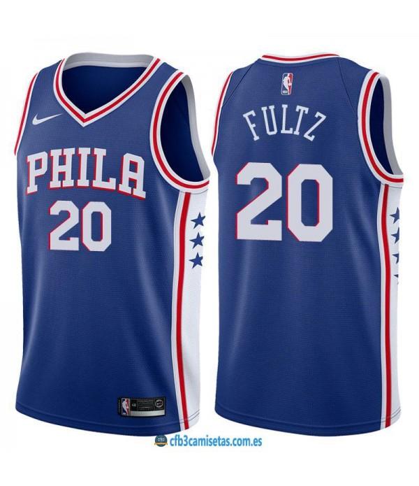 CFB3-Camisetas Markelle Fultz Philadelphia 76ers I...
