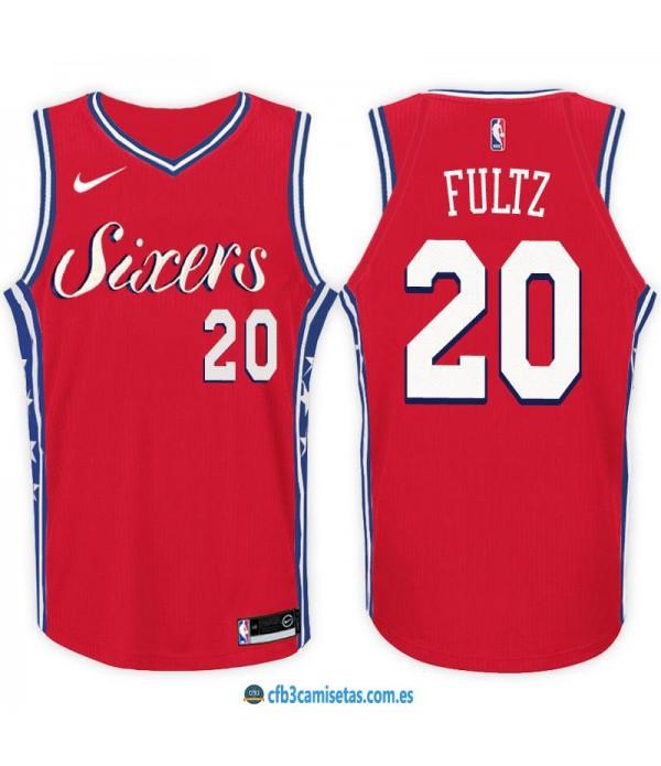 CFB3-Camisetas Markelle Fultz Philadelphia 76ers Statement