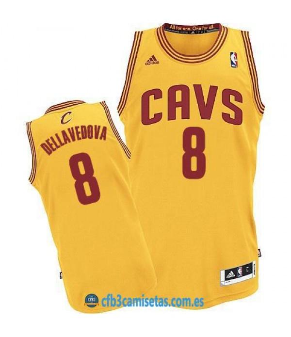 CFB3-Camisetas Matthew Dellavedova Cleveland Cavaliers Alternate