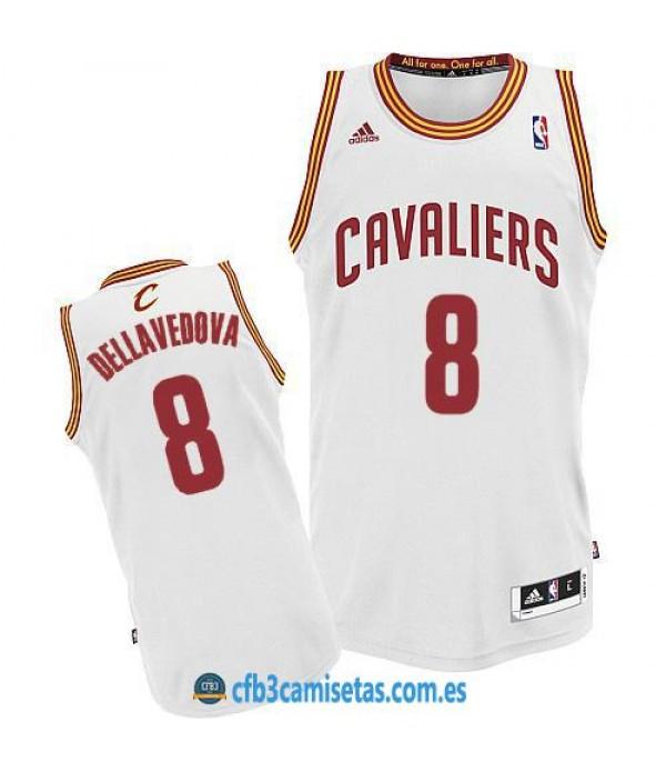 CFB3-Camisetas Matthew Dellavedova Cleveland Cavaliers White
