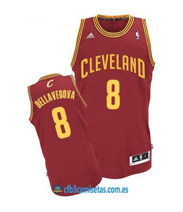 CFB3-Camisetas Matthew Dellavedova Cleveland Cavaliers Wine