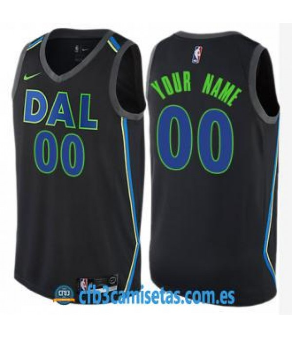 CFB3-Camisetas Mavericks Dallas City Edition Perso...
