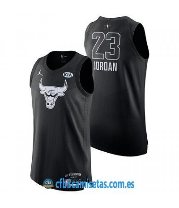 CFB3-Camisetas Michael Jordan 2018 All Star Black