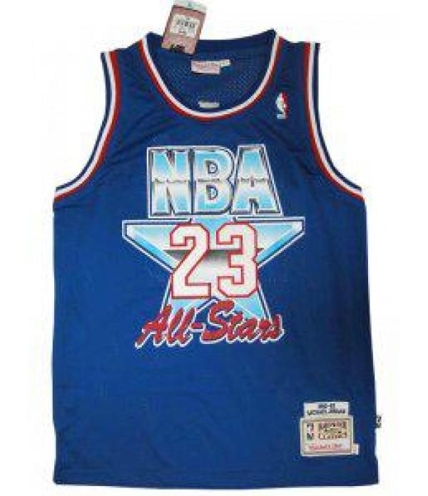 CFB3-Camisetas Michael Jordan All Star 1992 1993