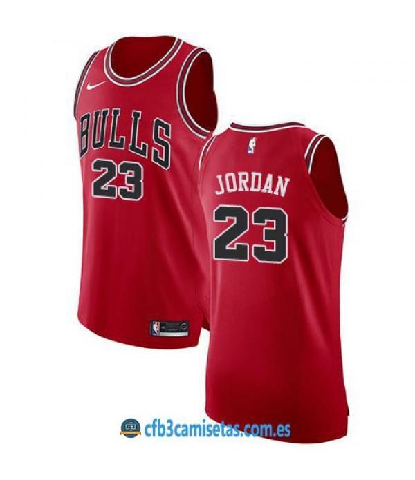 CFB3-Camisetas Michael Jordan Chicago Bulls Icon