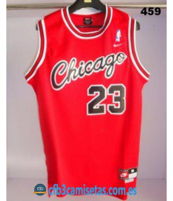 CFB3-Camisetas Michael Jordan Chicago Bulls RETRO 1984 1985