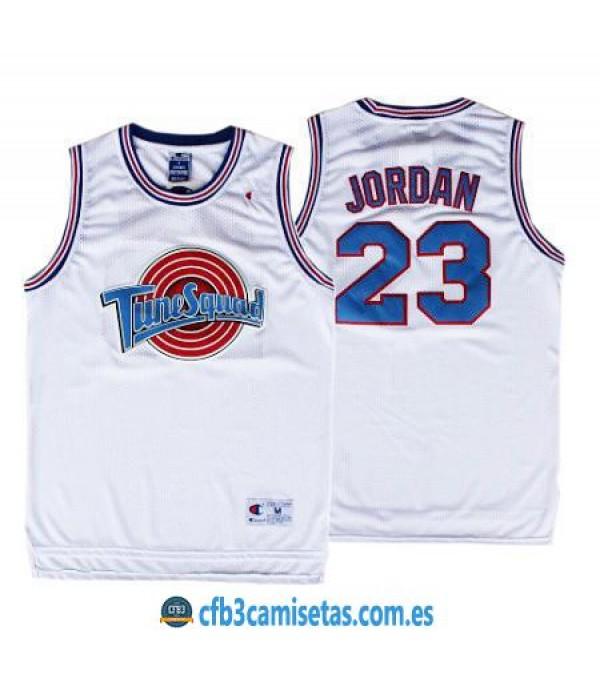 CFB3-Camisetas Michael Jordan Tune Squad Space Jam