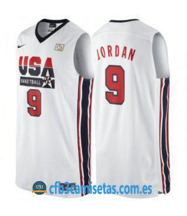 CFB3-Camisetas Michael Jordan USA Dream Team