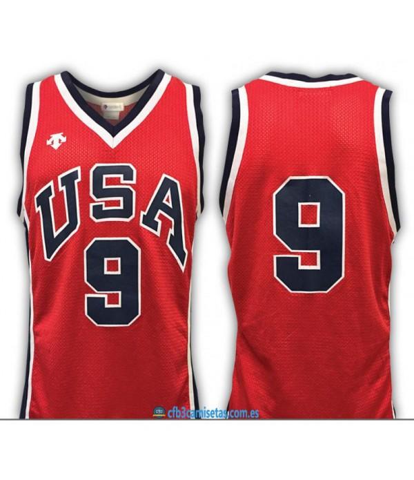 CFB3-Camisetas Michael Jordan USA JJOO 1984