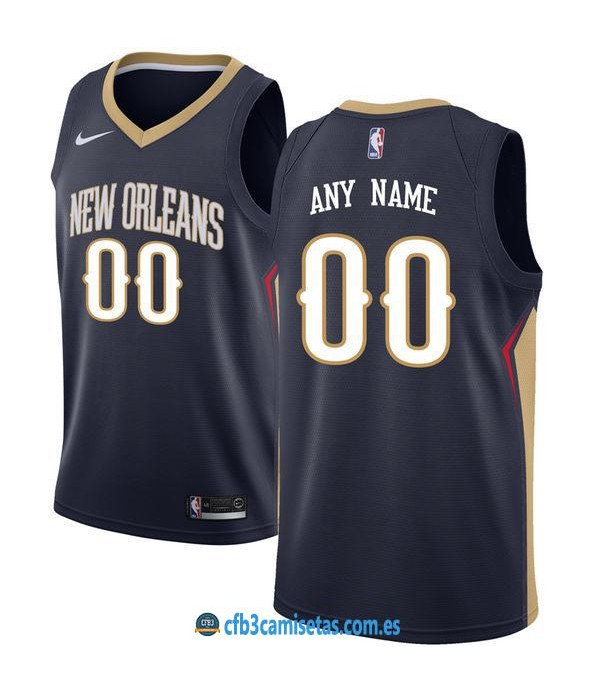 CFB3-Camisetas New Orleans Pelicans Icon PERSONALIZABLE