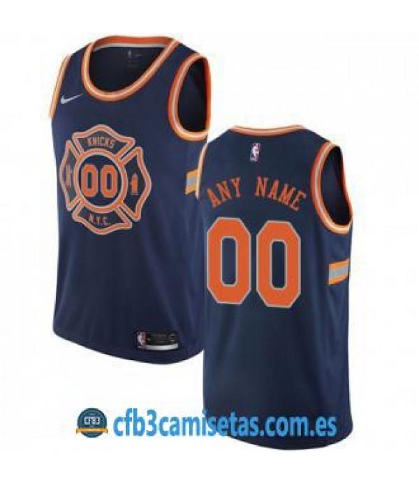 CFB3-Camisetas New York Knicks City Edition Personalizable