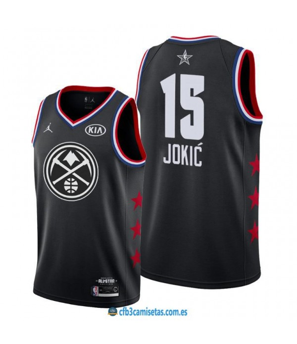 CFB3-Camisetas Nikola Jokić 2019 All Star Black