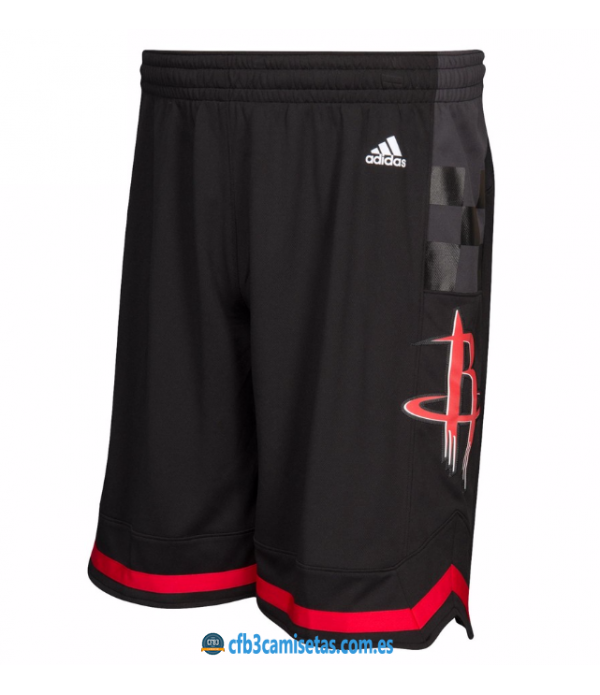 CFB3-Camisetas Pantalones Houston Rockets Black