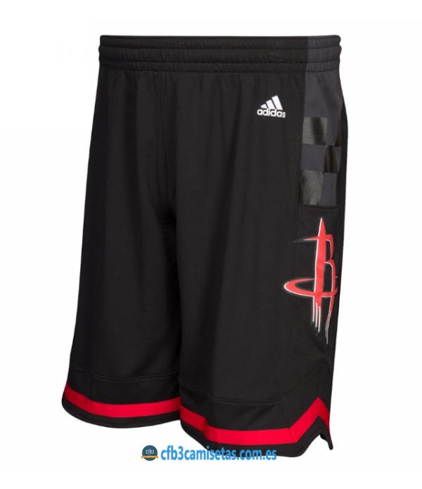 CFB3-Camisetas Pantalones Houston Rockets Black
