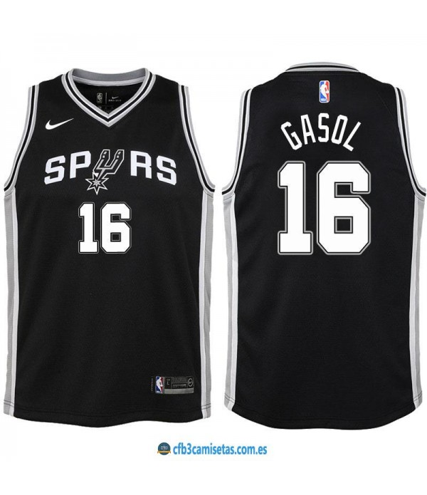 CFB3-Camisetas Pau Gasol San Antonio Spurs Icon