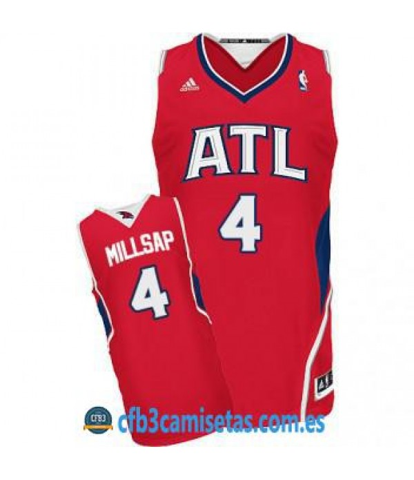 CFB3-Camisetas Paul Millsap Atlanta Hawks Alternate