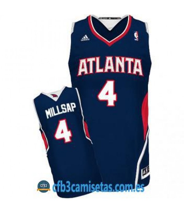 CFB3-Camisetas Paul Millsap Atlanta Hawks Road