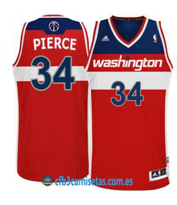 CFB3-Camisetas Paul Pierce Washington Wizards Red