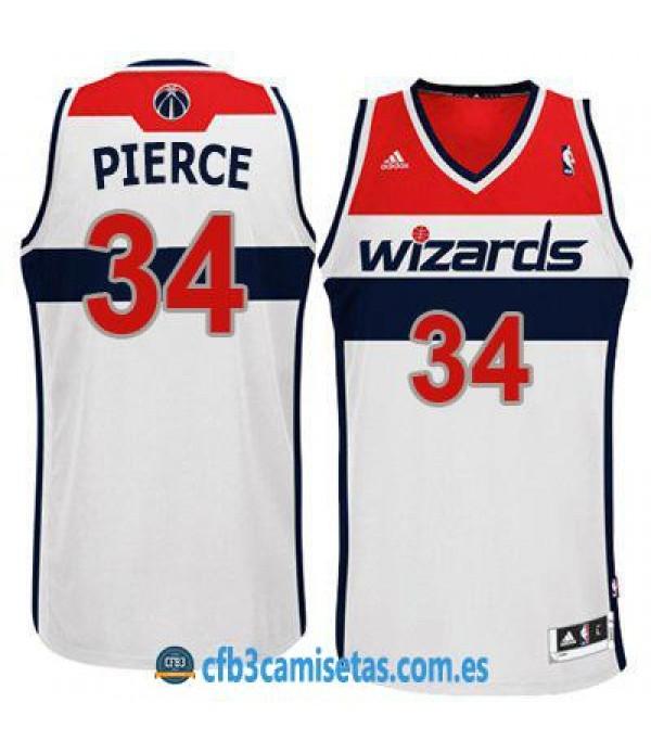CFB3-Camisetas Paul Pierce Washington Wizards White
