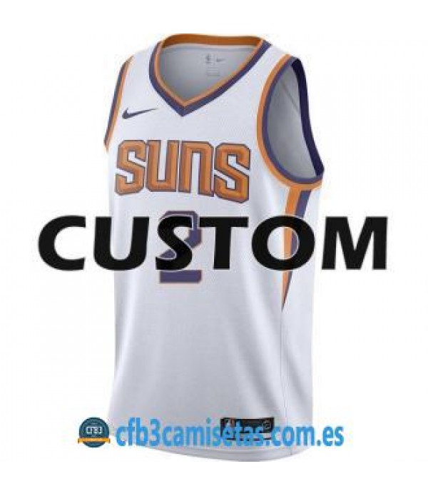 CFB3-Camisetas Phoenix Suns Association Personalizable