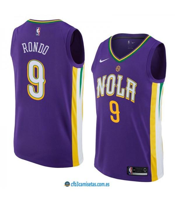 CFB3-Camisetas Rajon Rondo New Orleans Pelicans Ci...