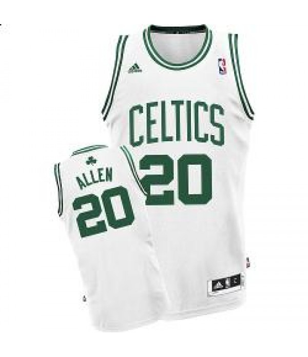 CFB3-Camisetas Ray Allen Boston Celtics Blanca y verde