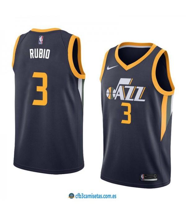 CFB3-Camisetas Ricky Rubio Utah Jazz Icon