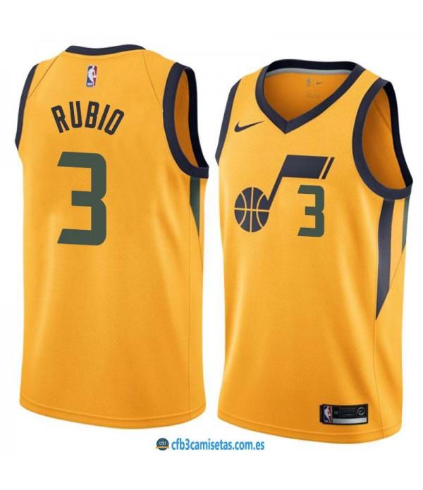 CFB3-Camisetas Ricky Rubio Utah Jazz Statement