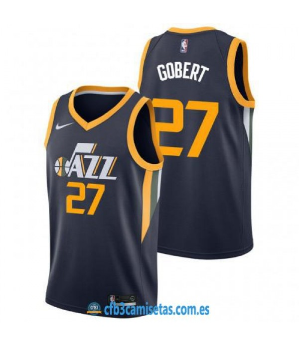 CFB3-Camisetas Rudy Gobert Utah Jazz Icon