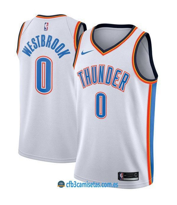 CFB3-Camisetas Russell Westbrook Oklahoma City Thunder Association