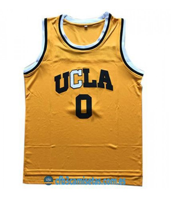 CFB3-Camisetas Russell Westbrook UCLA Bruins Yellow