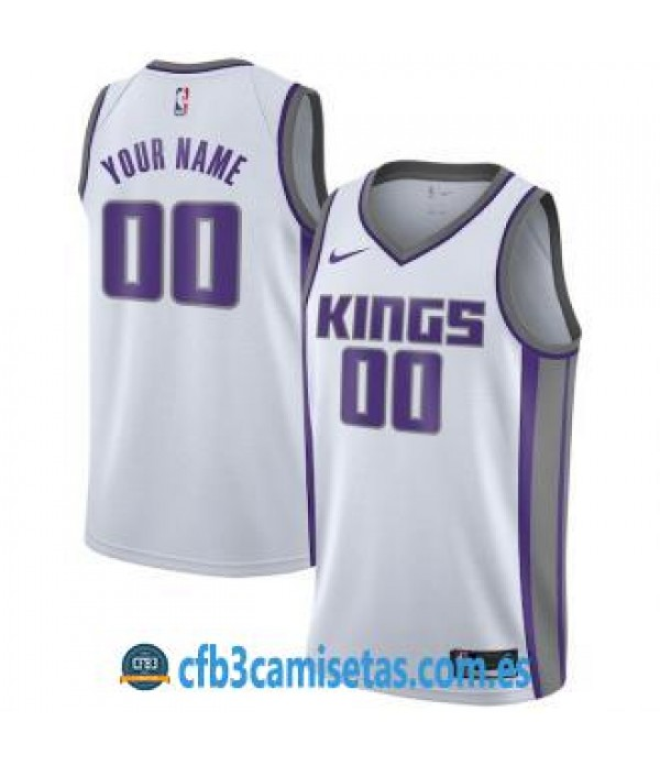 CFB3-Camisetas Sacramento Kings Association Person...