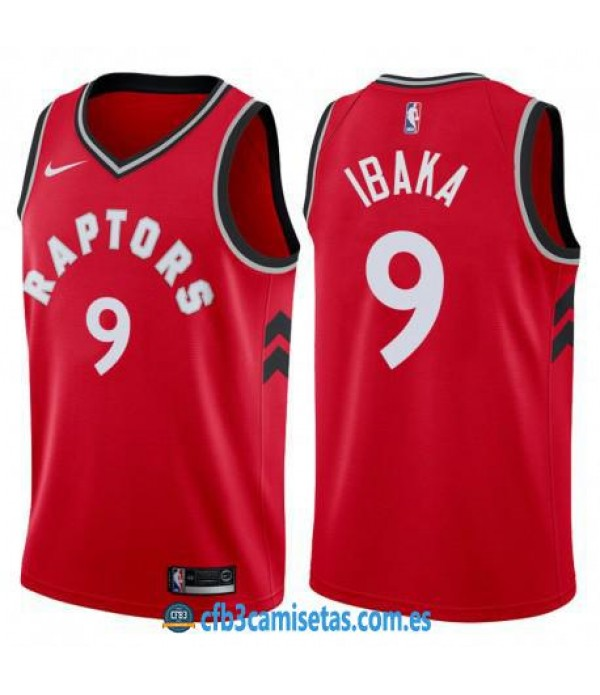 CFB3-Camisetas Serge Ibaka Toronto Raptors Icon