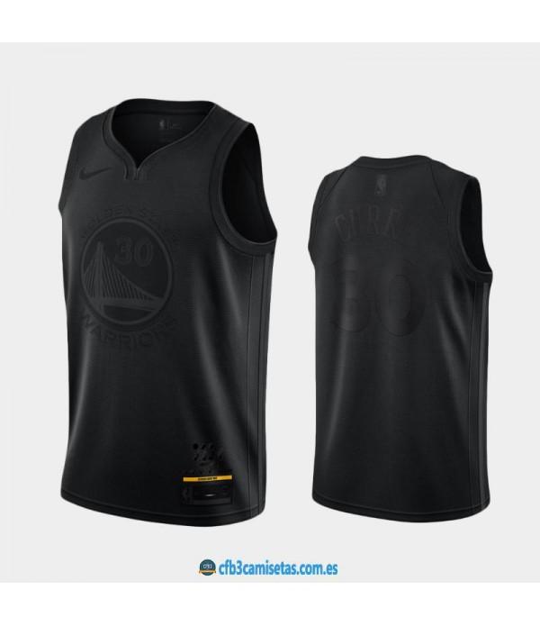 CFB3-Camisetas Stephen Curry Golden State Warriors MVP Black